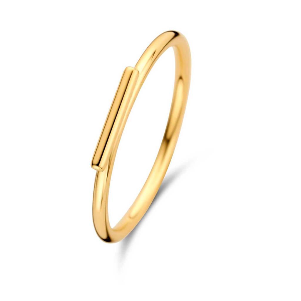 Isabel Bernard 14 karaat gouden ring - IB330009, Goudkleurig
