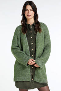 ONLY vest groen, Groen