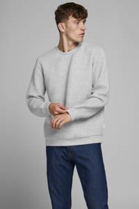 JACK & JONES ESSENTIALS gemêleerde sweater lichtgrijs, Lichtgrijs