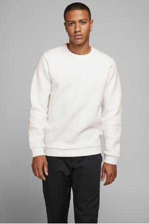 gemêleerde sweater ecru