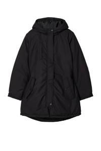 LMTD  winterjas Miso zwart, Zwart