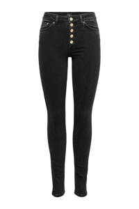 ONLY skinny jeans antraciet, Antraciet