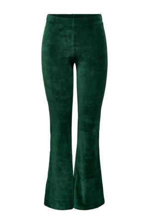 flared broek groen
