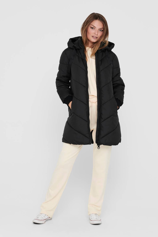 JACQUELINE DE YONG gewatteerde jas Skylar zwart, Zwart
