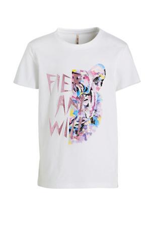 T-shirt Lucy van biologisch katoen wit