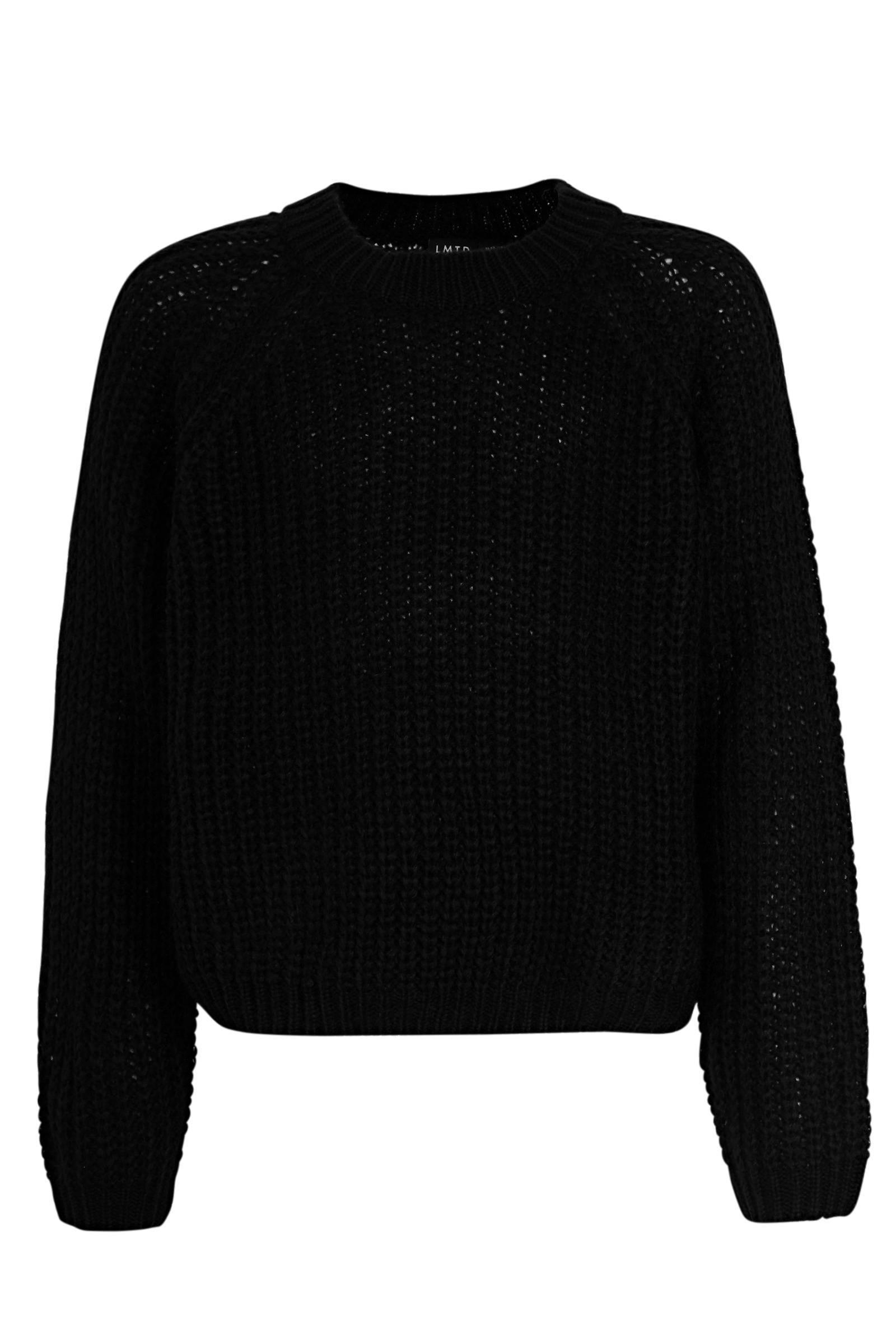 LMTD trui geelwitzwart | wehkamp