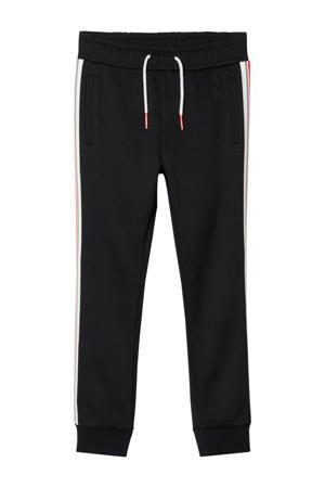 broek Nijaz zwart/wit/rood