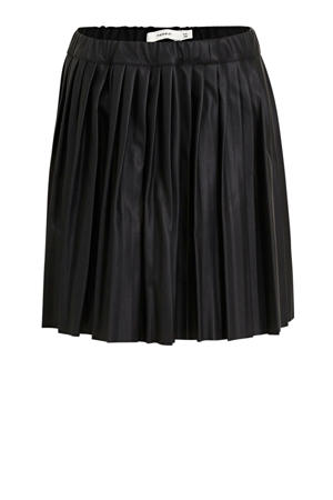 plissé rok Nattie zwart