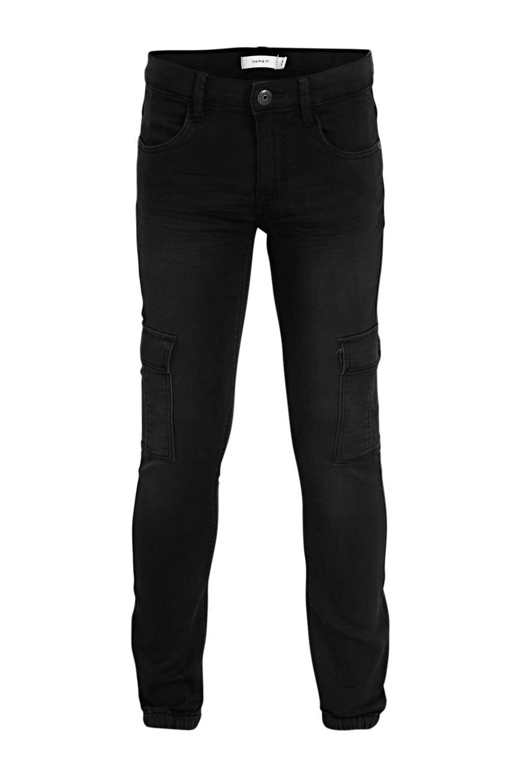 NAME IT KIDS regular fit jeans Romeo met biologisch katoen dark denim, Dark denim