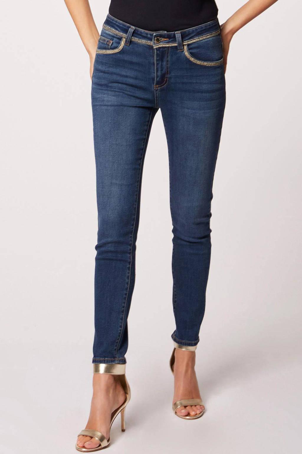 Morgan skinny jeans blauw, Blauw