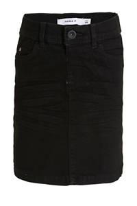 NAME IT KIDS rok Salli met biologisch katoen zwart, Zwart