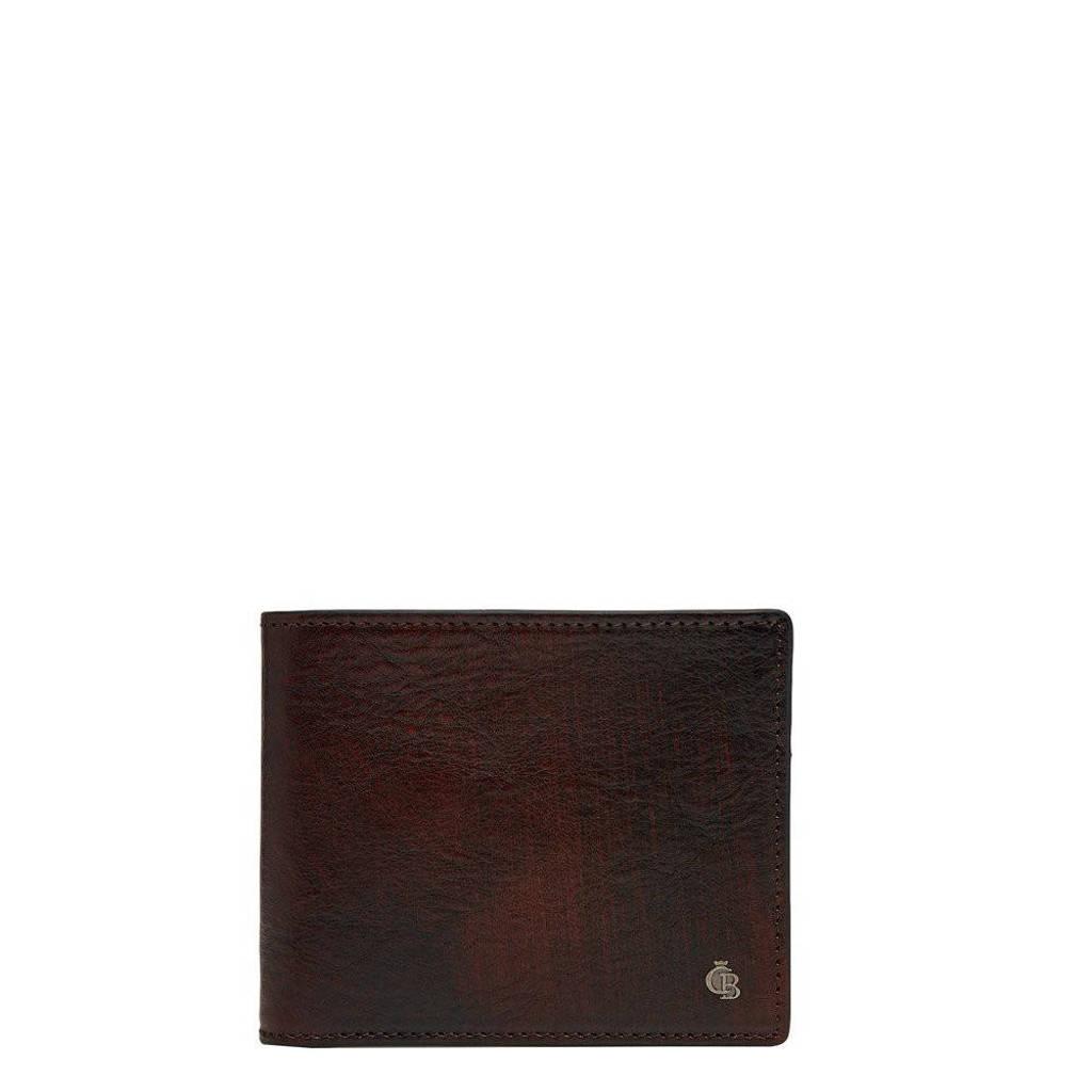 Castelijn & Beerens leren Rien RFID Portemonnee 8cc cognac, Bruin