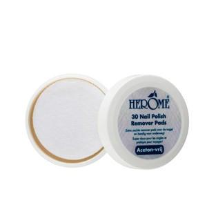 nagellak remover pads