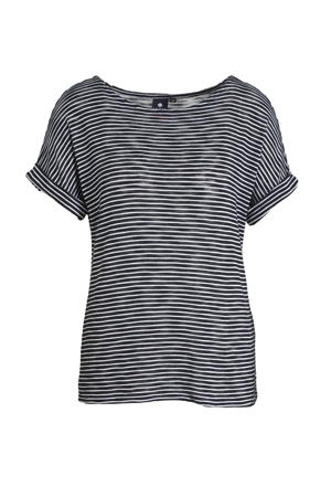 outdoor T-shirt Haapakimola donkerblauw/wit