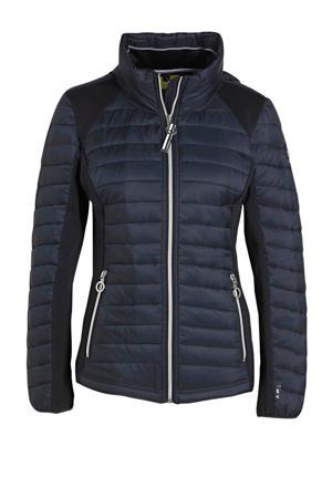 outdoor jas Ikkala donkerblauw