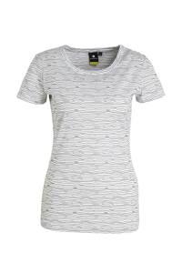 Luhta outdoor T-shirt Aakkula wit/zwart, Wit/zwart