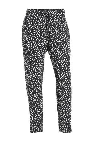 outdoor broek Hultila donkerblauw/wit