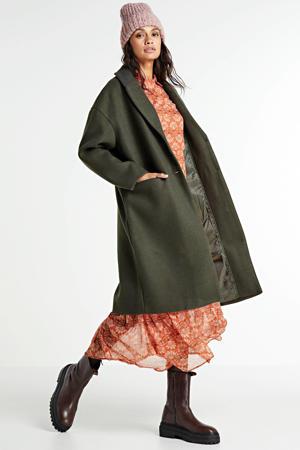 coat Callee donkergroen