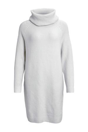 jurk van gerecycled polyester grijs