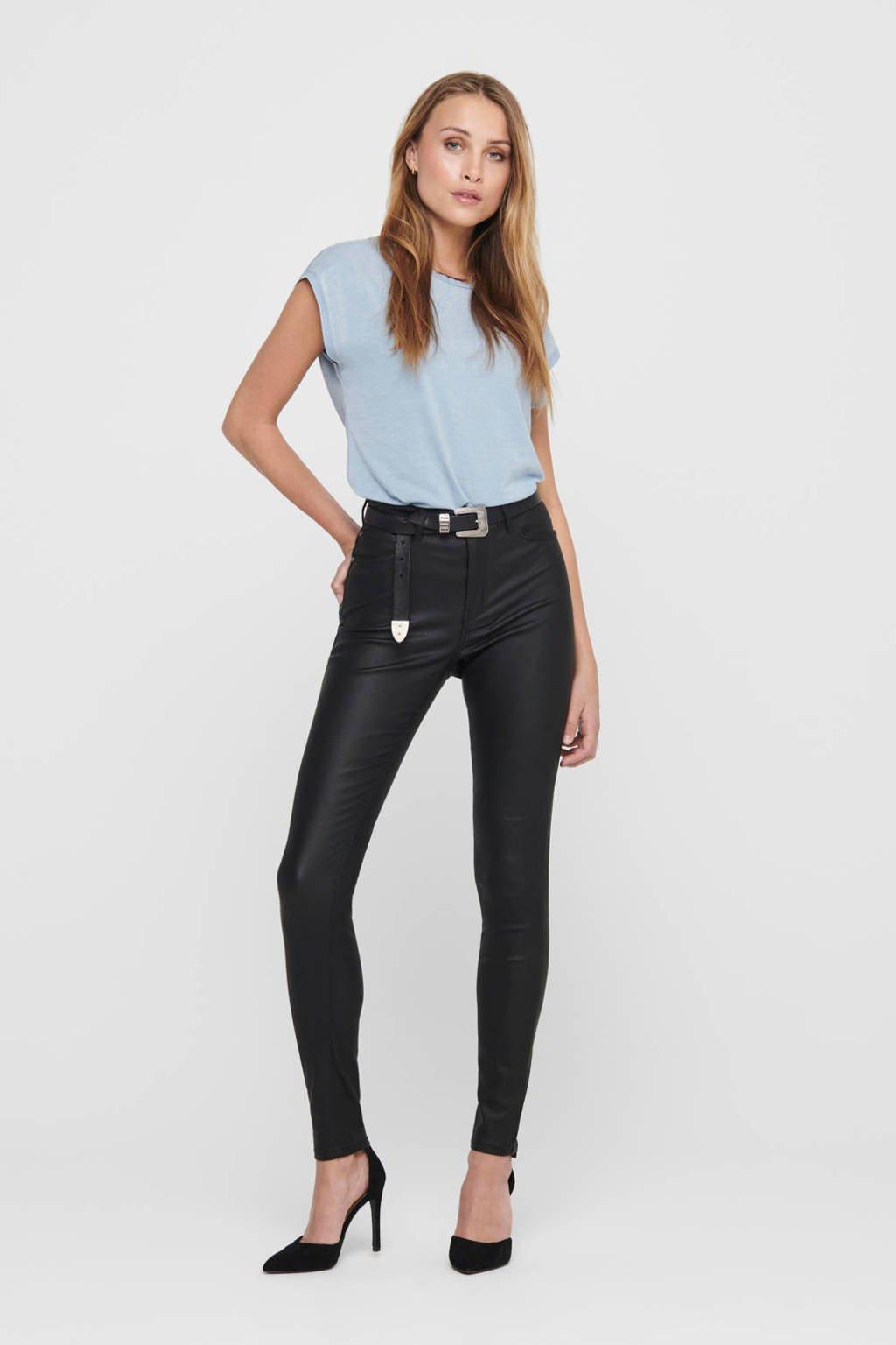 JACQUELINE DE YONG high waist skinny broek zwart, Zwart