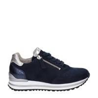 Gabor  comfort suède sneakers donkerblauw, Donkerblauw