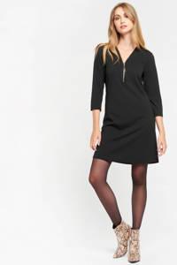 LOLALIZA A-lijn jurk zwart, Zwart