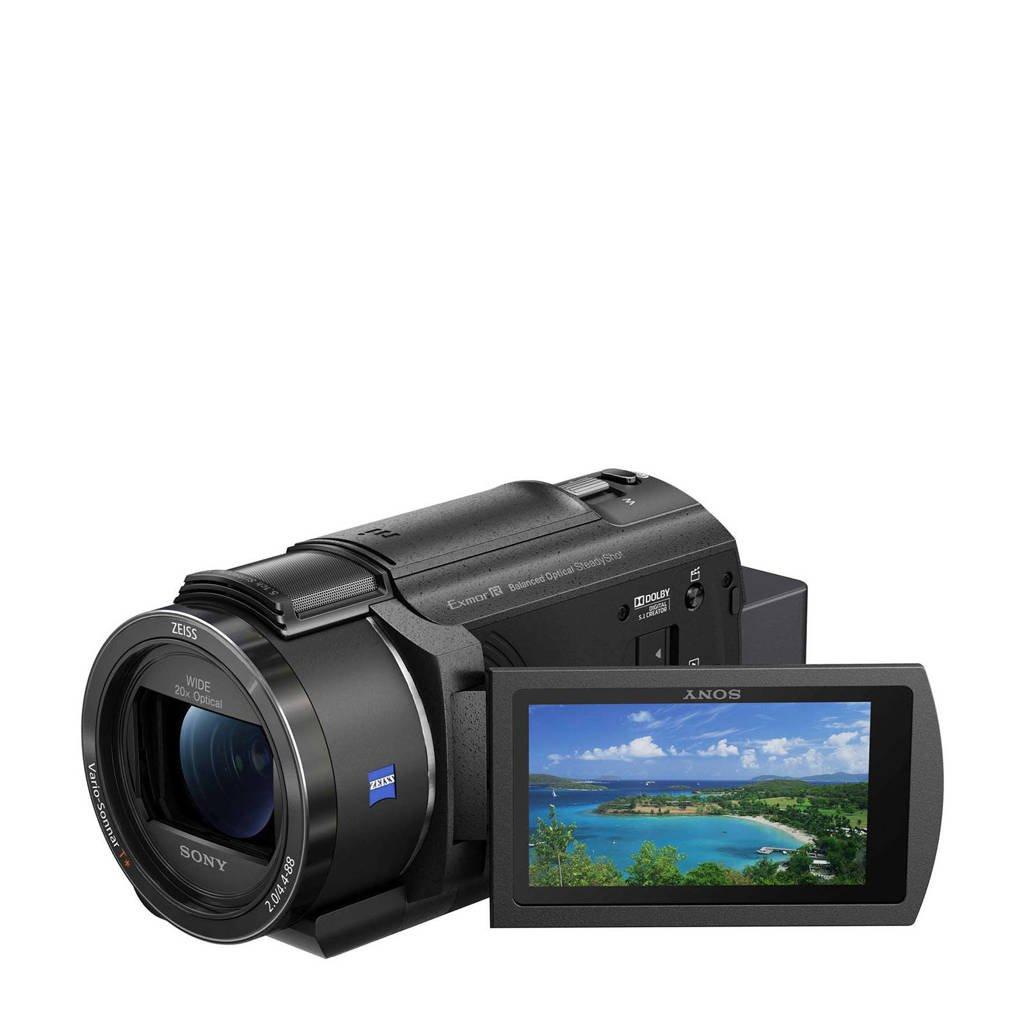 Sony  FDR-AX43 camcorder, Zwart