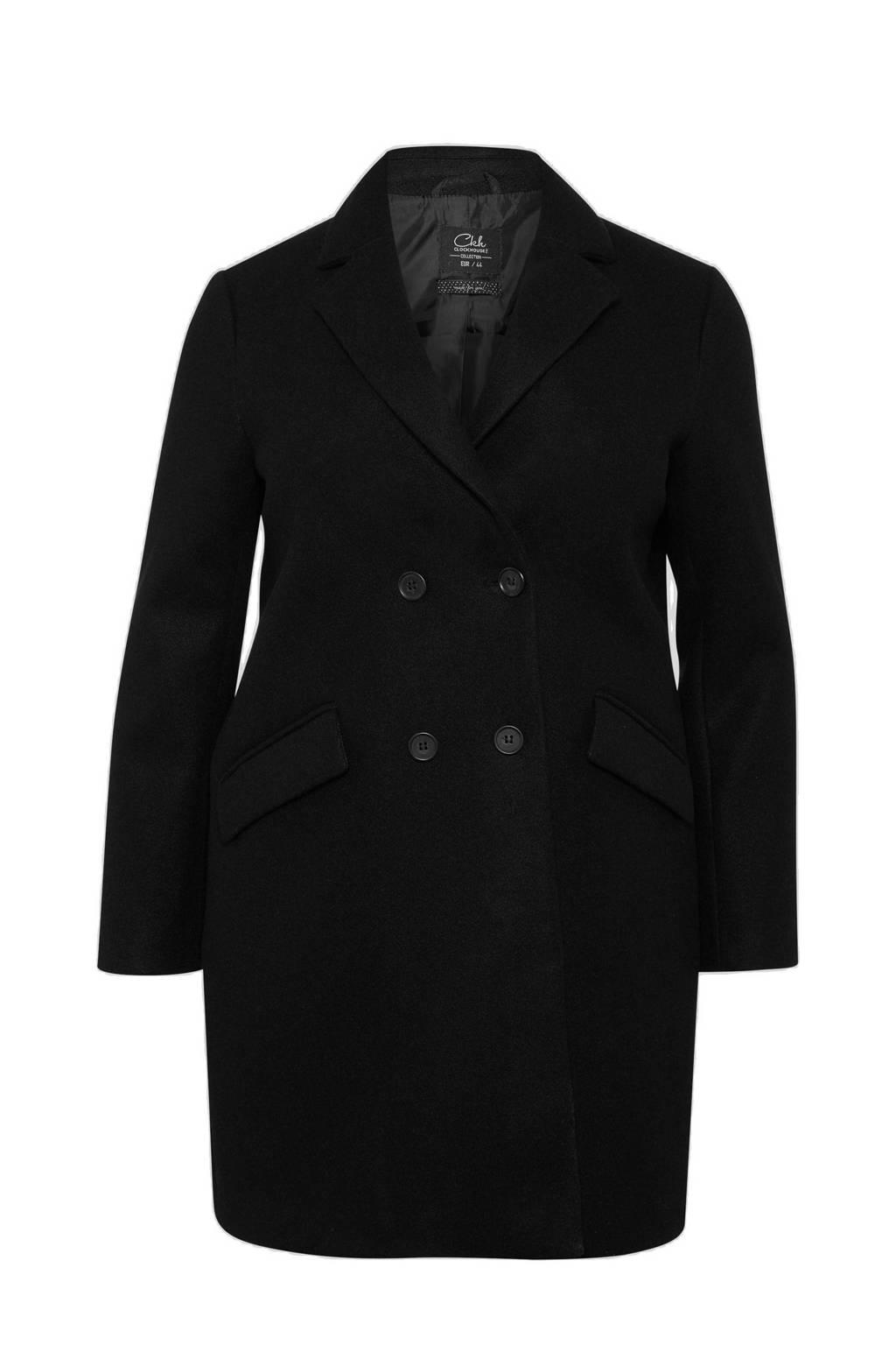 C&A XL Clockhouse coat zwart, Zwart