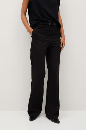 slim fit pantalon zwart
