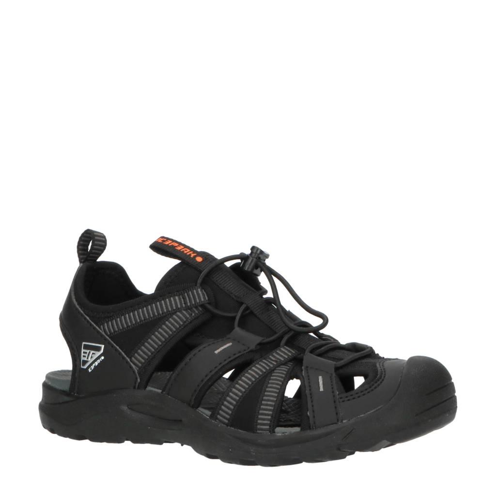 Icepeak Aksu Jr outdoor sandalen zwart kids, Zwart