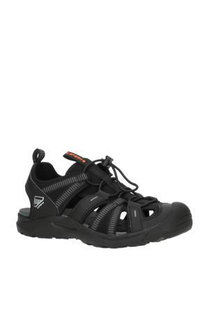 Aksu Jr outdoor sandalen zwart kids