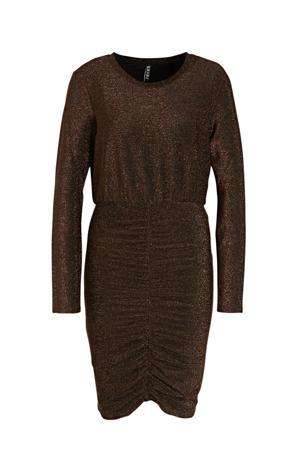 jurk donkerrood