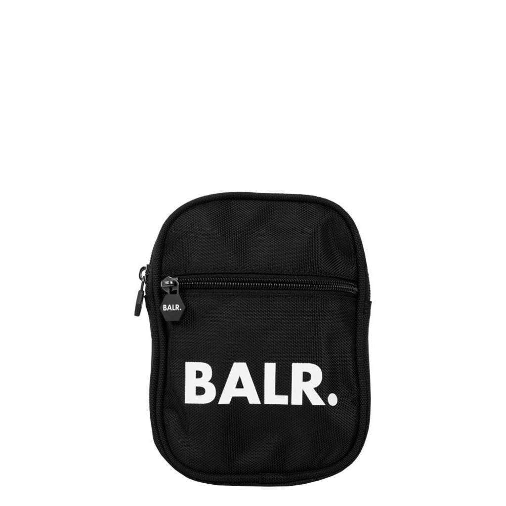 Balr.  U-Series crossbody tas zwart, Zwart