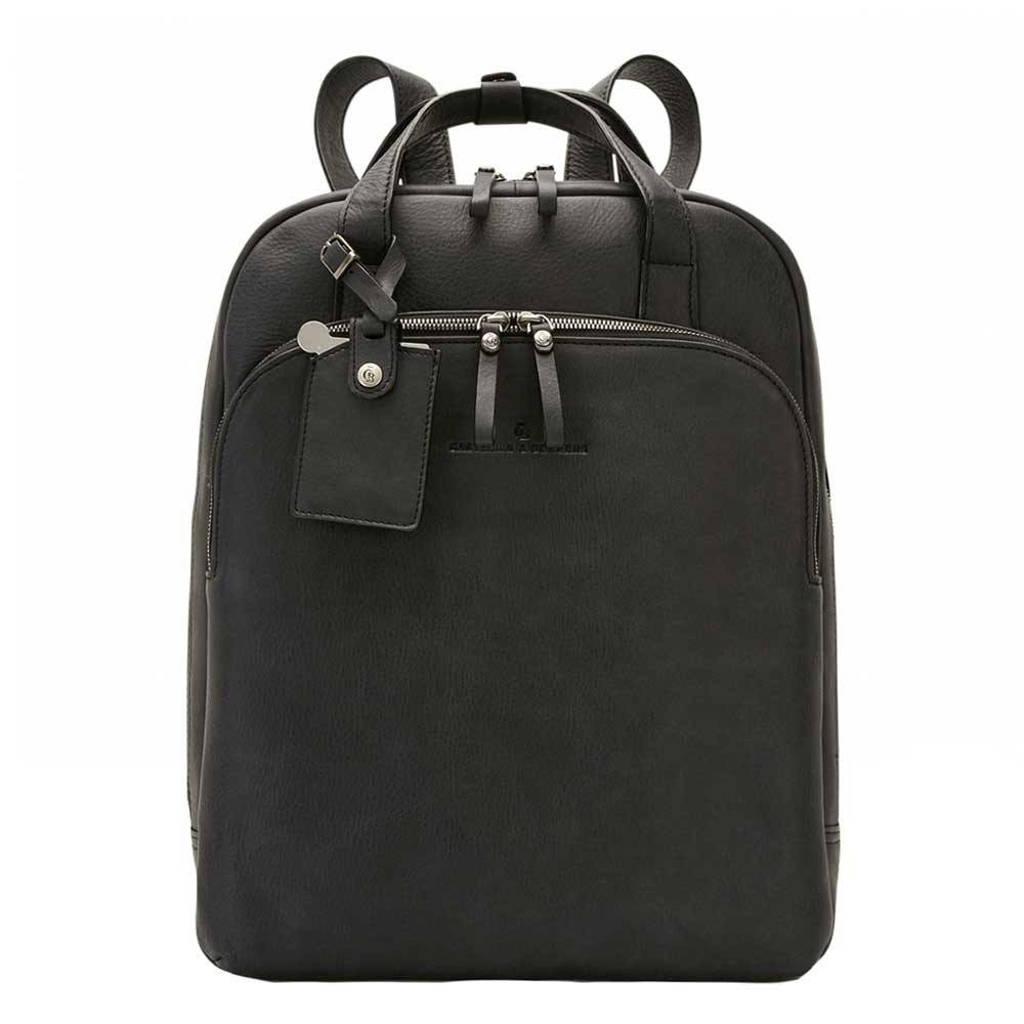 """Castelijn & Beerens  Carisma Laptop Rugzak 15.6"""" + tablet zwart, Zwart"""