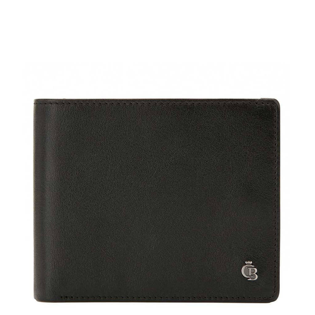 Castelijn & Beerens leren Nova RFID Portemonnee 14cc zwart, Zwart