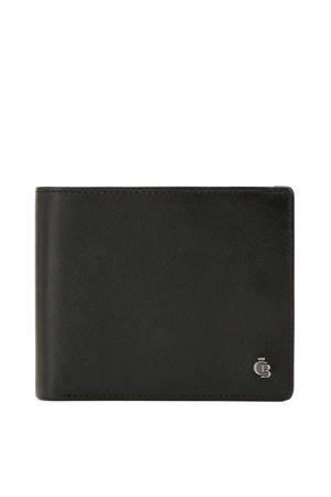 leren Nova RFID Portemonnee 14cc zwart