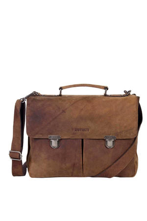 15 inch laptoptas Wall Street bruin