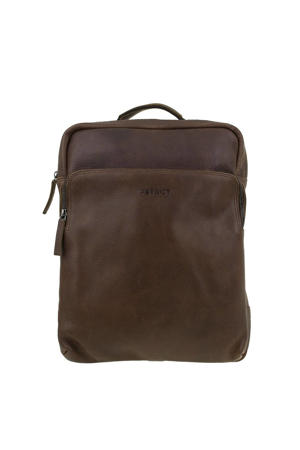 15.6 laptoptas bruin