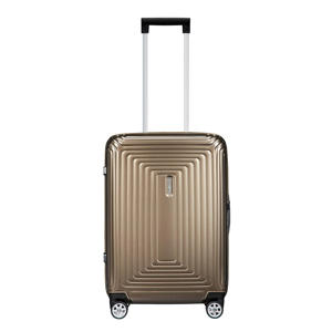 trolley Neopulse Spinner 55/23 cm. metallic zand