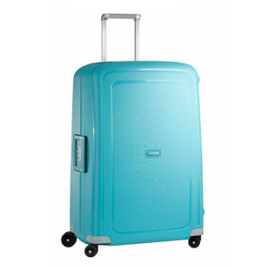 trolley S'Cure Spinner 75 cm. blauw