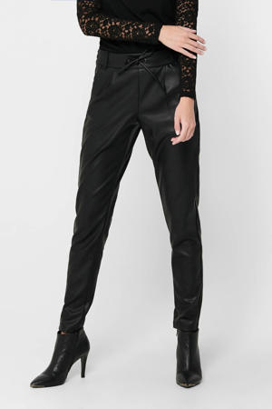 slim fit broek ONLPOPTRASH zwart