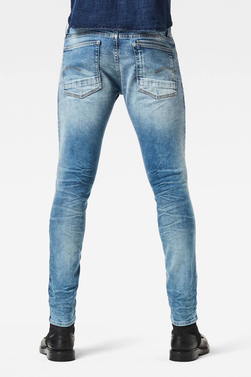 G-Star RAW Lancet skinny jeans vintage beryl blue, Vintage beryl blue