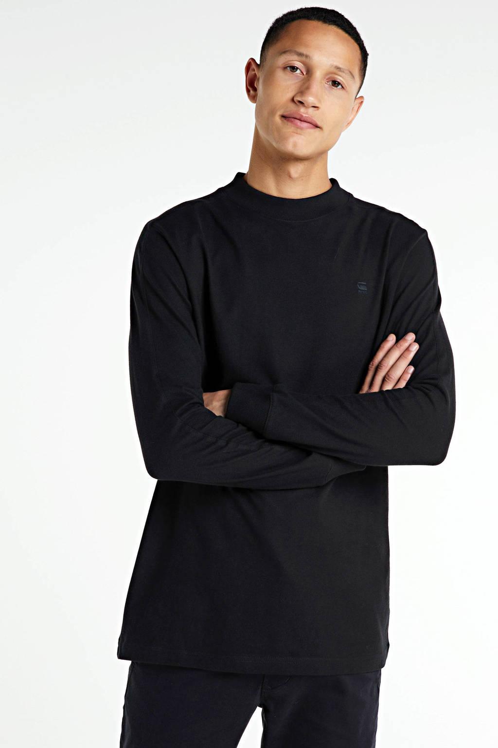 G-Star RAW longsleeve Korpaz van biologisch katoen zwart, Zwart