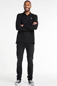 G-Star RAW regular fit polo Dunda met biologisch katoen zwart, Zwart