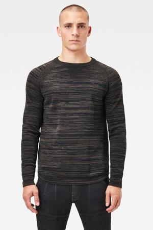 gemêleerde trui grijs/zwart