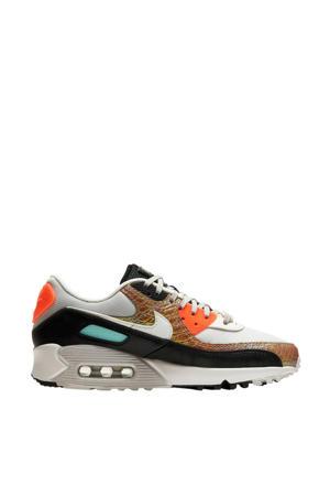 Air Max 90 sneakers lichtbruin/grijs/oranje