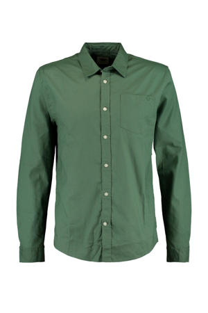 regular fit overhemd Hayes groen