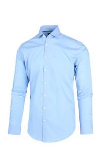 Blue Industry slim fit overhemd lichtblauw, Lichtblauw