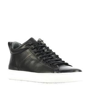 SG29  leren sneakers zwart