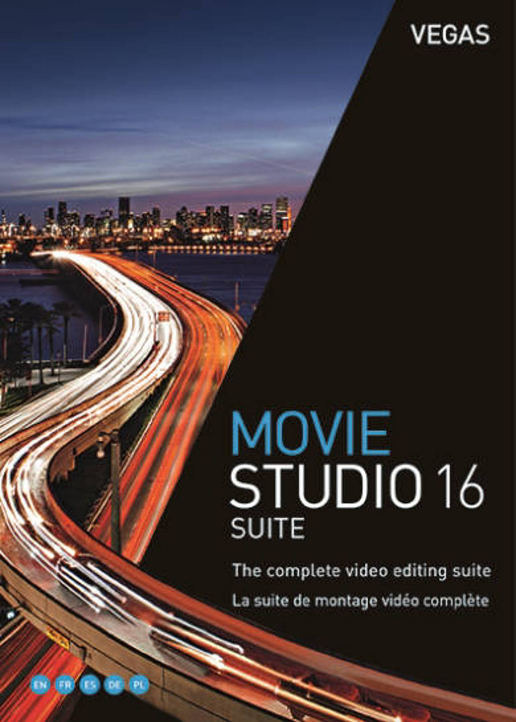 VEGAS Movie Studio 16 Suite EN/FR (PC)